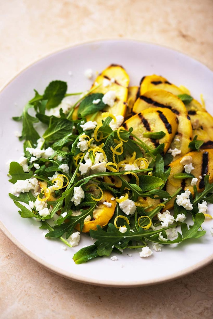 Young Yellow Courgette with Feta, Lemon Zest and Mint. 156 kcals! From the Fast Diet Recipe Book  https://www.facebook.com/photo.php?fbid=386691651447033=898ae1fcb6