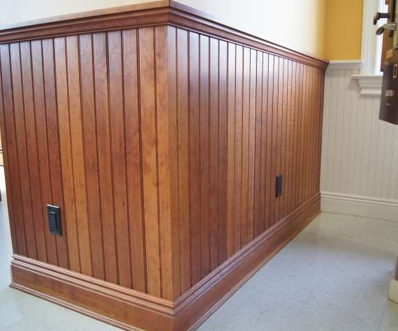 wood stain vs. painted   Wainscoting / Walls   Pinterest   Wainscoting, Stains and Woods