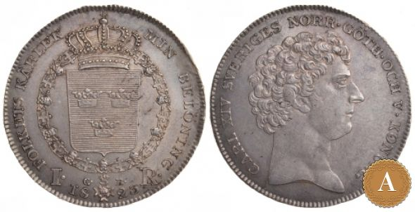 1 РИГСДАЛЕР 1823