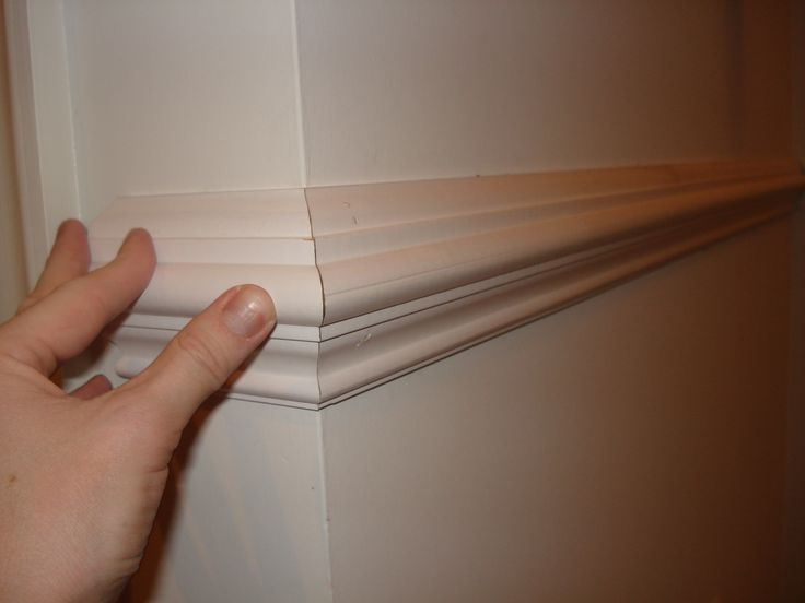 How to install chair rail molding. Lots of photos.