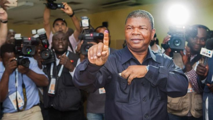 Image copyright                  EPA             Image caption                                      The MPLA's João Lourenço casts his ballot at a polling station in Luanda, Angola                               Angola's ruling MPLA party has taken a commanding lead... - #Angolas, #Election, #Lead, #MPLA, #Party, #Ruling, #Strong, #Takes