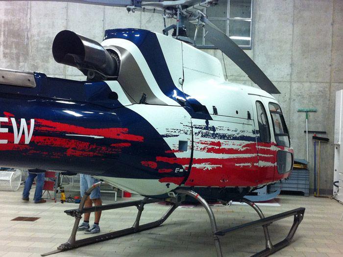personalizzazione elicottero