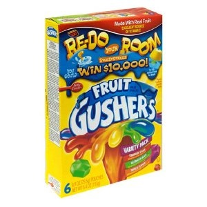 Betty Crocker Fruit Gushers Variety Pack 153g: Amazon.co.uk: Grocery