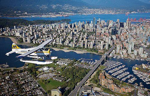 Harbour seaplanes, Vancouver