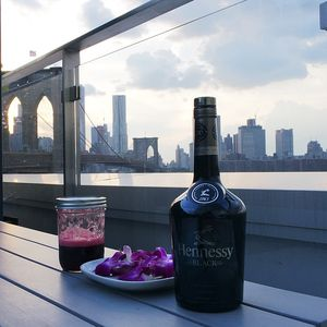 Hennessy Black Flor de Jamaica Cocktail
