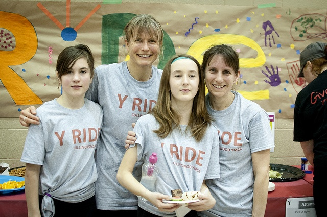Money raised from the Collingwood Y Ride helps children in the community experience healthy activities
