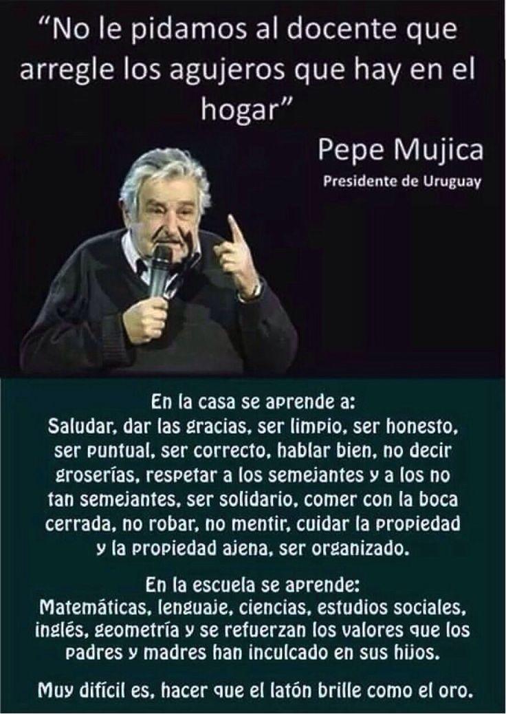 Resultado de imagen de José Mujica aboga por la propiedad popular de la tierra