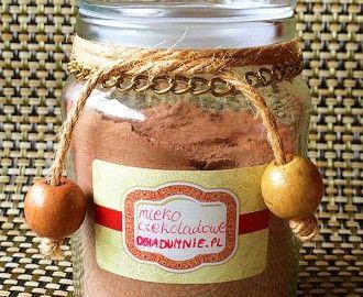 Mleko czekoladowe domowej roboty