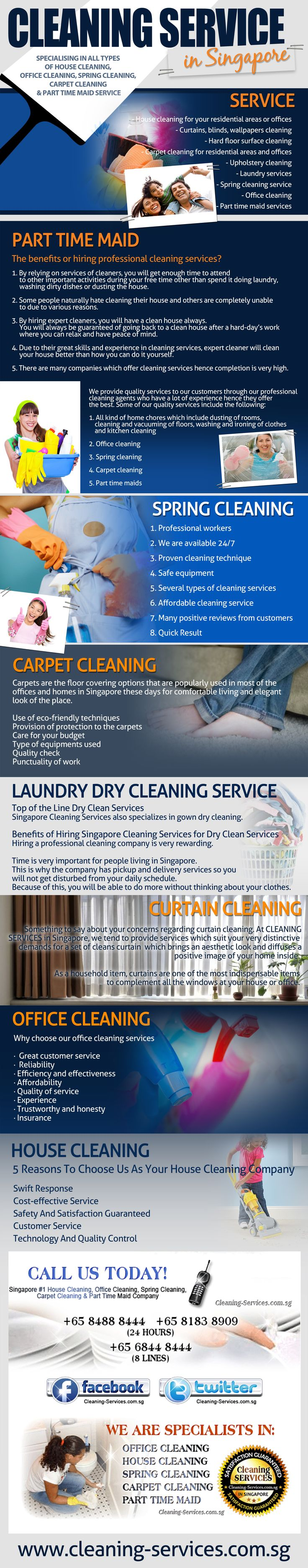 Building cleaning and maintenance service