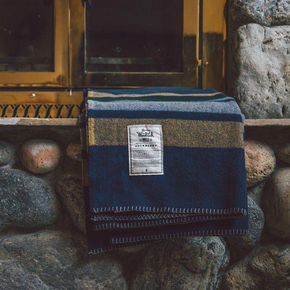 Woolrich x Huckberry Allegheny Blanket