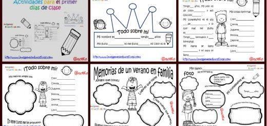 Psf actividades para los primeros d as de clase portada for Actividades para el primer dia de clases en el jardin