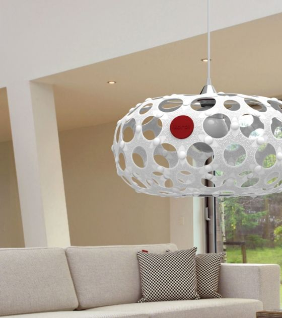 This contemporary black lampshade forms part of the Award Winning Korol home décor range. It is eco-friendly! Available in different colors. Purchase it from www.wave2africa.com