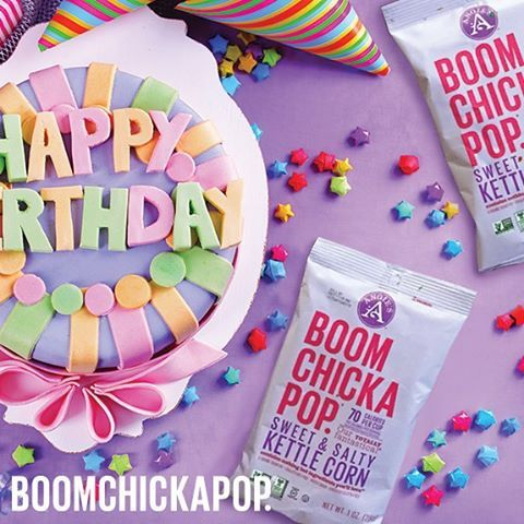 Break out the confetti. Snack sized BOOM = party favor of the year.