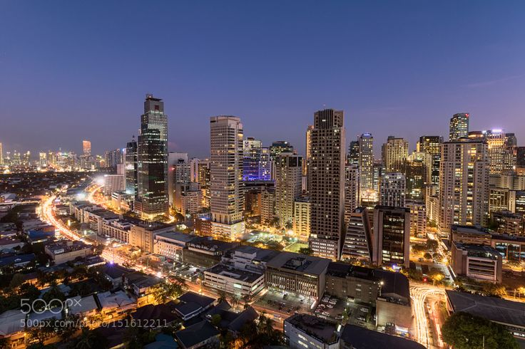 The Business Center || Makati Philippines by anthonyromblon City and Architecture Photography #InfluentialLime