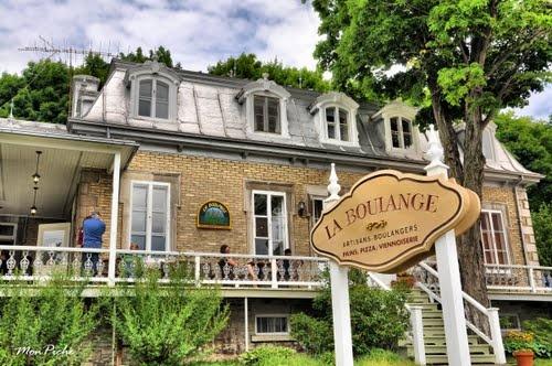 Favourite stop on Ile d'Orleans, in St-Jean, QC: La Boulange.