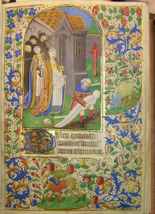 Book of Hours, Ms. Codex 003133. Medieval Manuscripts at the Rauner Library