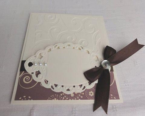 Elegáns esküvői képeslap, Esküvő, Naptár, képeslap, album, Nászajándék, Ajándékkísérő, Meska