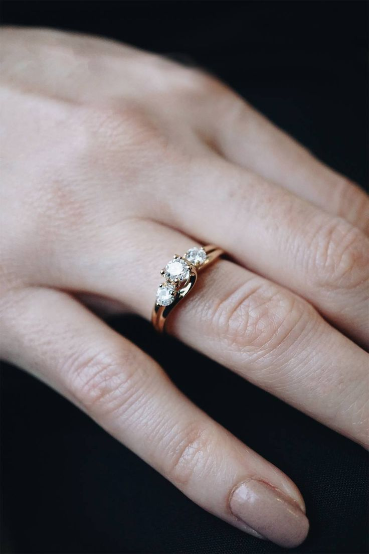 "Past, present and future engagement ring; a timeless classic, and 3 reasons to say ""yes!"""