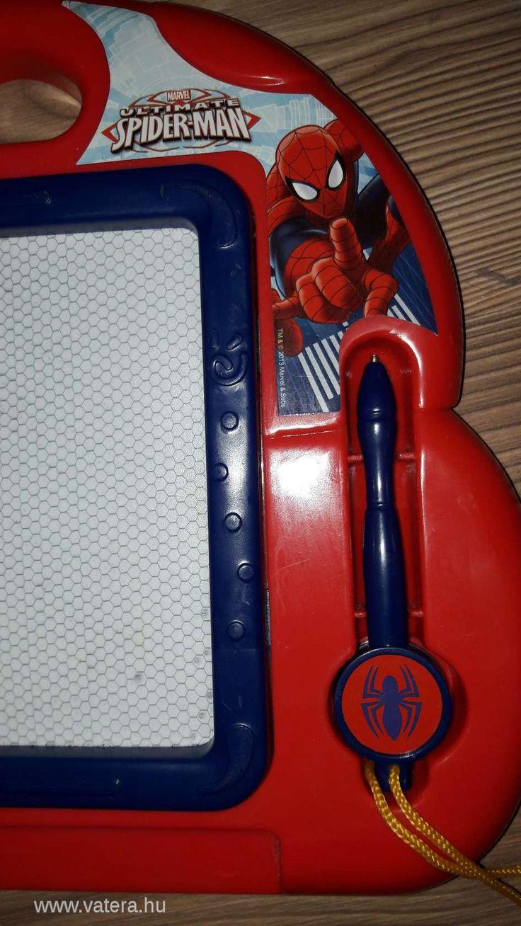 BS Játék -  PÓKEMBERES mágneses rajztábla - 800 Ft - Nézd meg Te is Vaterán - Festés, rajzolás, színezés - http://www.vatera.hu/item/view/?cod=2593724621