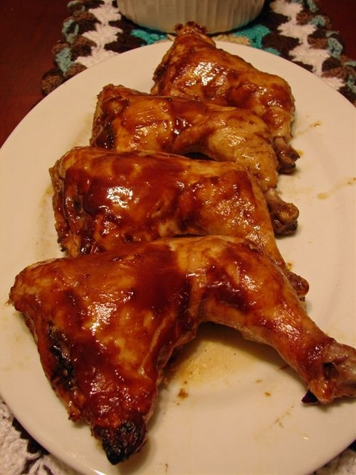 Slow Cooker BBQ Chicken, recipe sounds easy and very tasty.