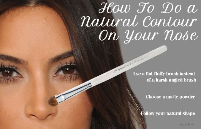 How to Contour Your Nose (the Natural Way) | #VDAYMakeup #contour