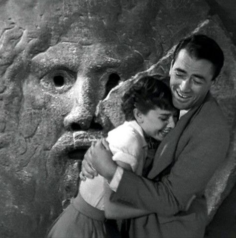 Audrey Hepburn and Gregory Peck - Roman Holiday