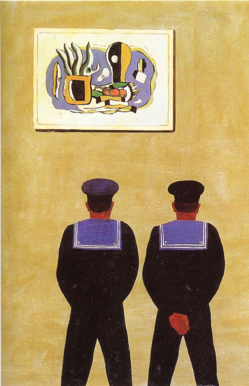 Omaggio a Léger, 1961 by Pippo Rizzo (Italian 1897-1964)   Archivio Pippo Rizzo