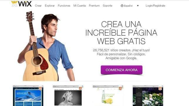 10 sitios para crear páginas web gratis.