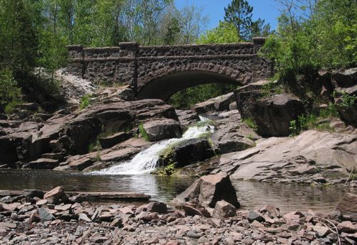 Bridge #6 on Seven Bridges Road - Duluth, Minnesota