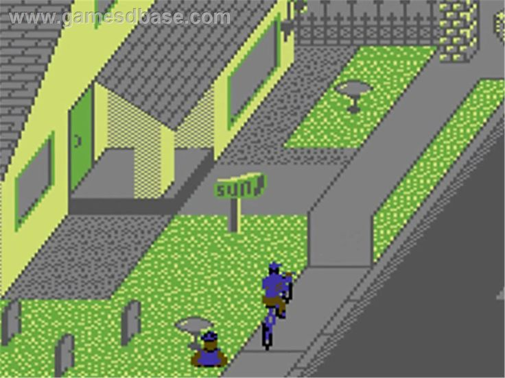 Paperboy (Commodore 64) LOVED THIS GAME We played this game a lot.  4 players.