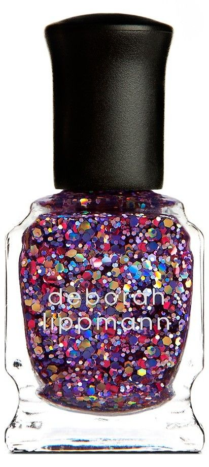 Cosmic sparkle nail polish. So fun!