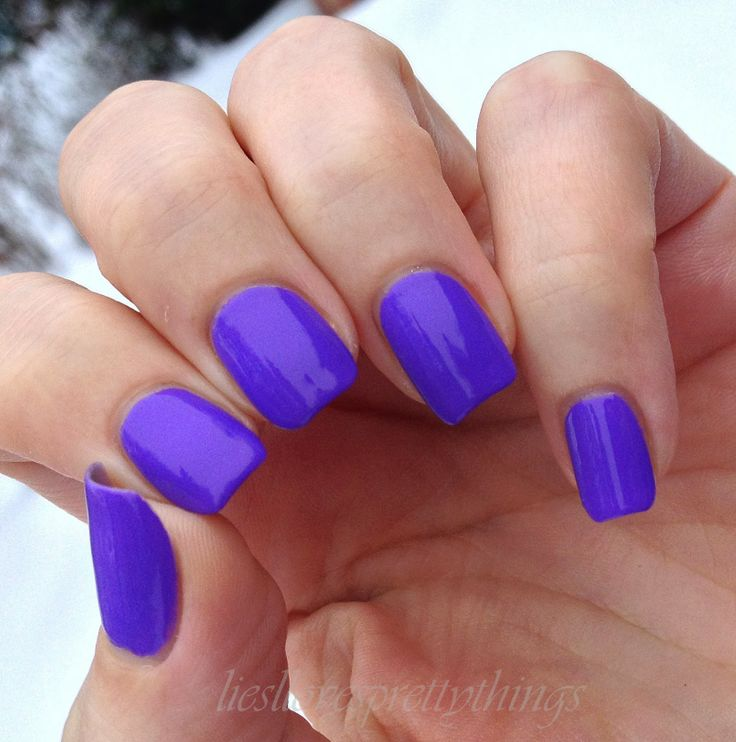 Love this bright color, but would keep my nails shorter if I did it.