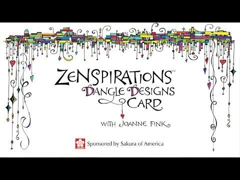 Zenspirations Easy Fink Joanne Elegant Dangle design for by Sakura   amp  online Learn Technique Zenspirations Designs create retailers to video your Another sb own how card    Dangle