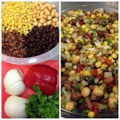 Lileni y sus recetas express: Ensalada de granos