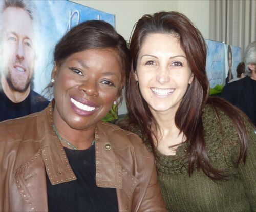 Katrina Kavvalos and Marcia Hines
