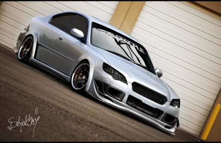 Time attack Subaru Legacy