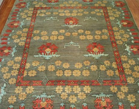 CRAFTSMAN AREA RUB | Area rugs: Rich colors, defined patterns and wool or wool blends are ...
