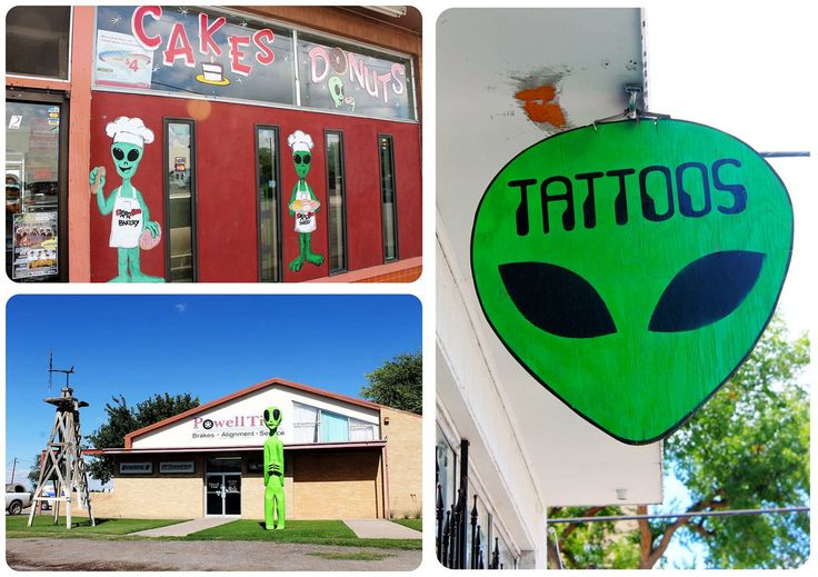 Aliens in Roswell New Mexico | Globetrotter Girls