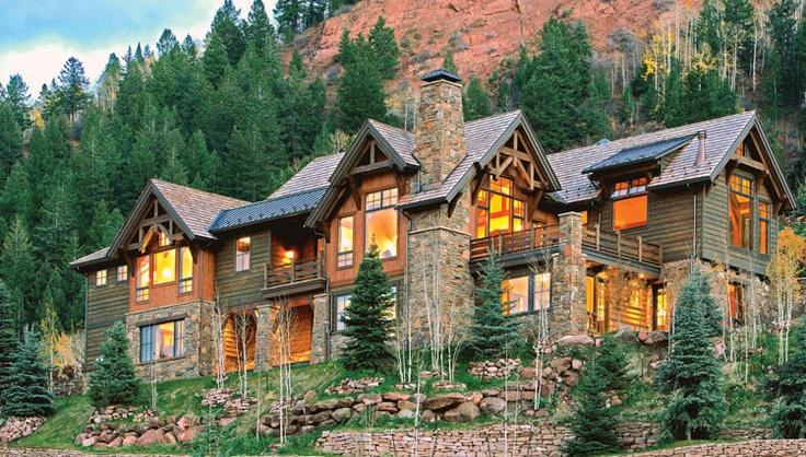 Aspen colorado architecture and interior design for Cabine colorado aspen