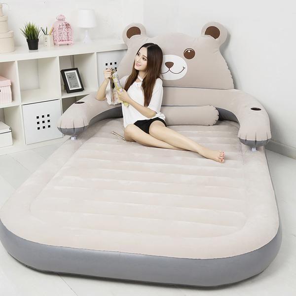 Cartoon Bear Lazy Couch Tatami Household Portable Air Bed Idees