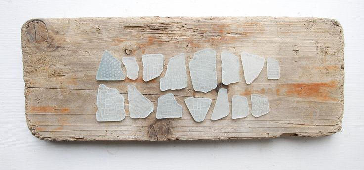 22 pieces of Japanese Textured Patterned Sea Glass, Coastal Home Decor, Craft Supply, Mosaic, Beach Finds, Sea Glass Collector by ReverseGem on Etsy