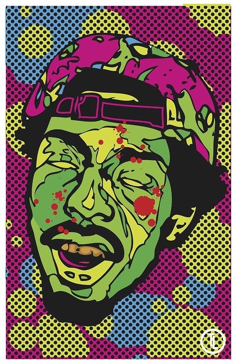 L.S Darko from Flatbush Zombies Digital Poster I Designed.