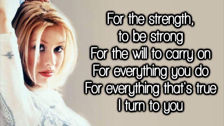 Christina Aguilera - I Turn To You (2000)