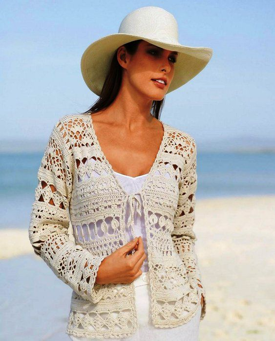 1000+ images about Crochet sweaters & jackets on Pinterest ...