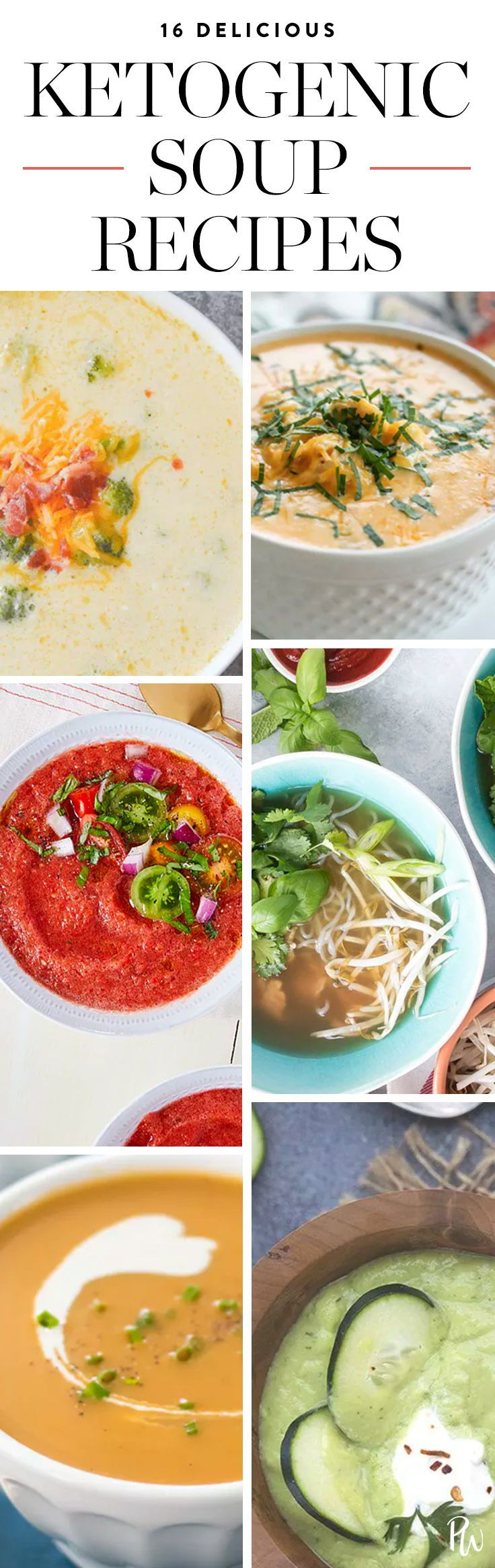 16 Keto-Friendly Soups and Stews to Fill You Up #ketogenicdiet #ketomeals #ketosoups #ketogenicsoups #souprecipes
