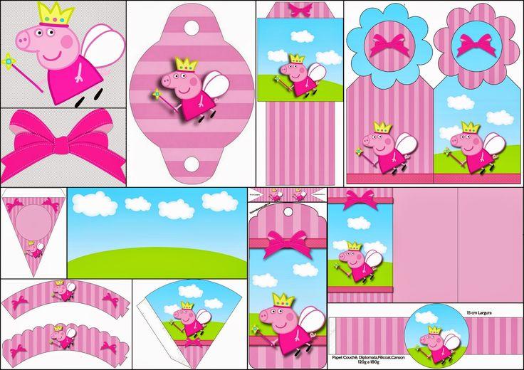 Peppa-Pig-Fairy-Free-Printable-kit2.jpg (1600×1131)