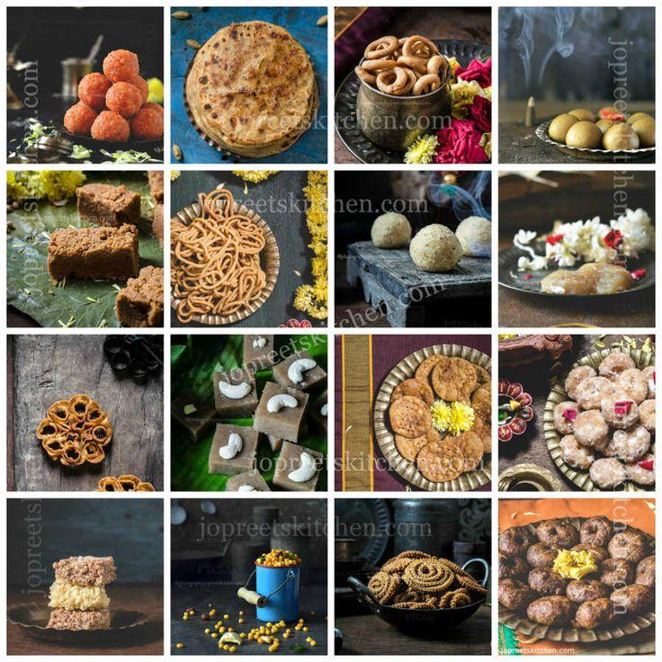 90 plus Diwali Recipes #sweets #snacks