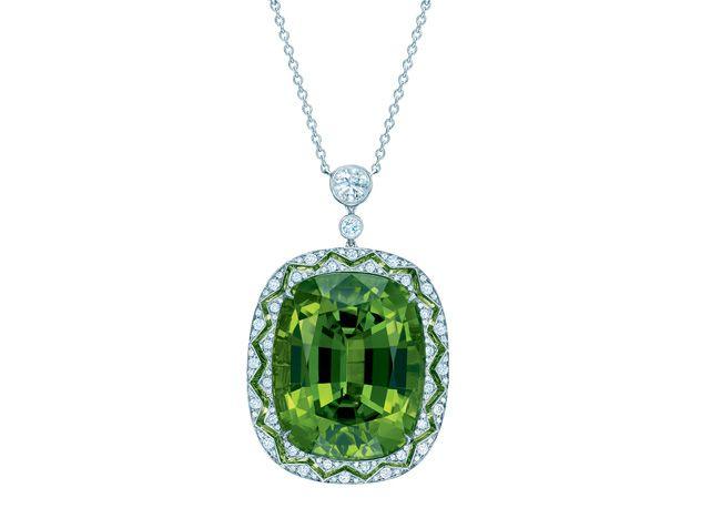 peridoto, tiffany, joia, colar, jewelry, peridoto, gema, pedra preciosa, joalheria