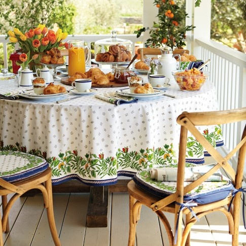 Wonderful Provence Tablecloth | Williams Sonoma I Love This One The Most.