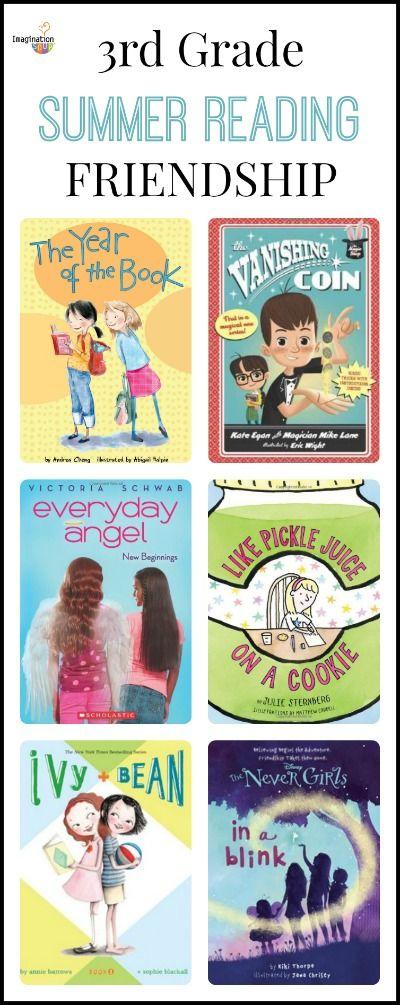 3rd Grade Summer Reading List (age 8 - 9) - Friendship | Imagination Soup